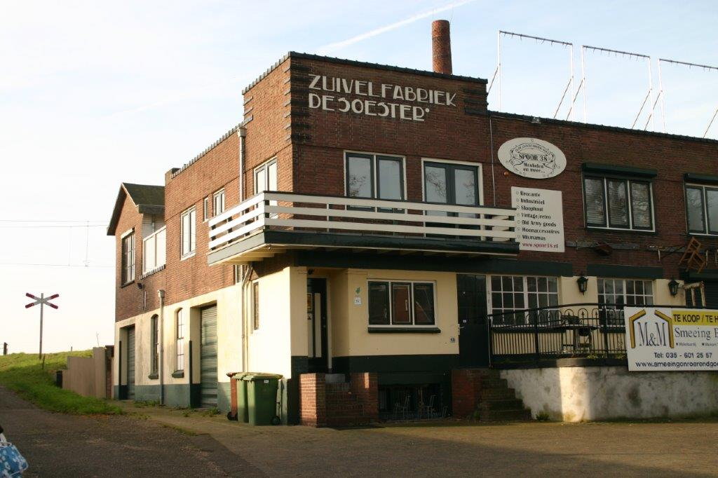 Oude zuivelfabriek