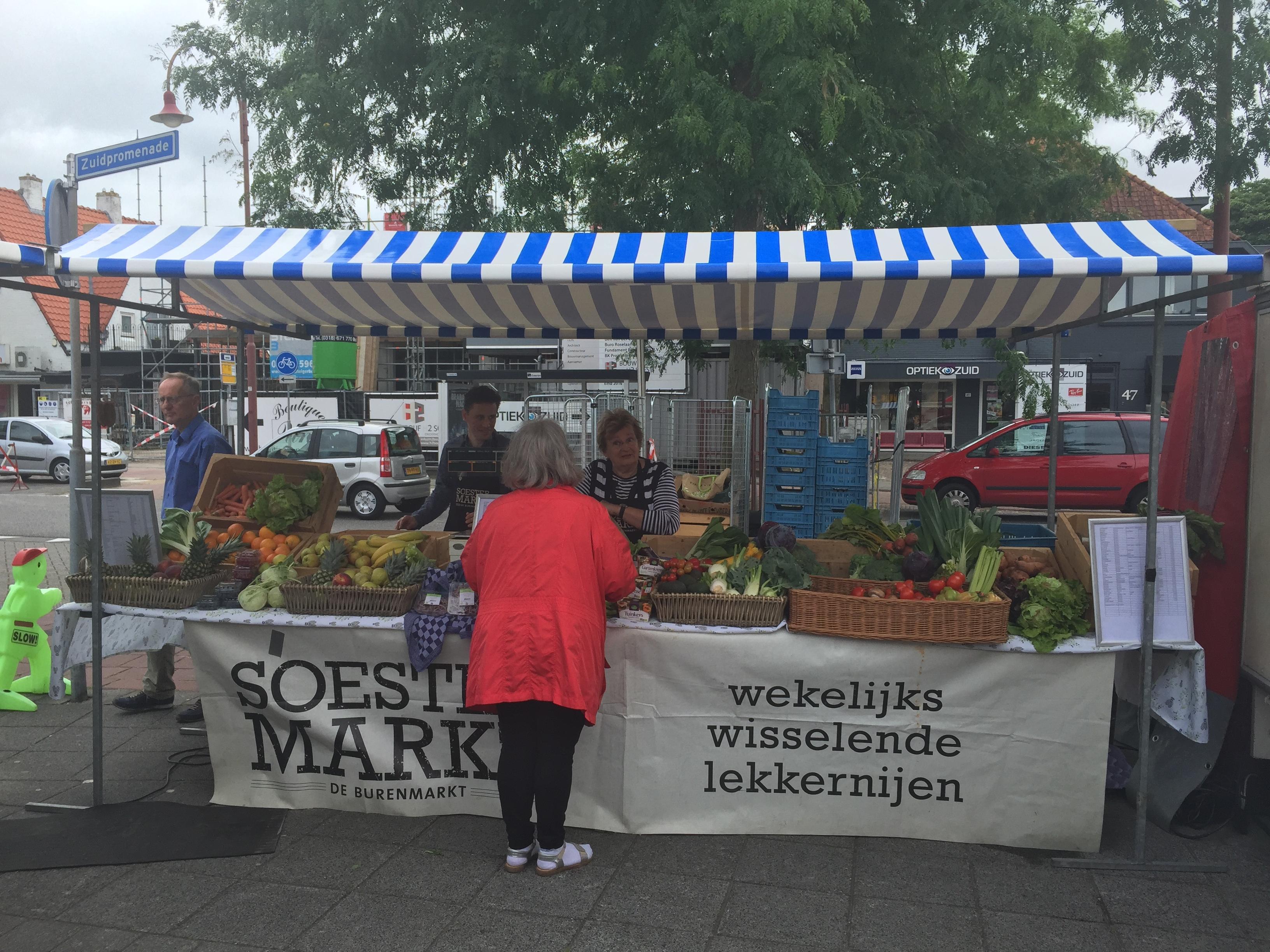 roestzuid kraam groente