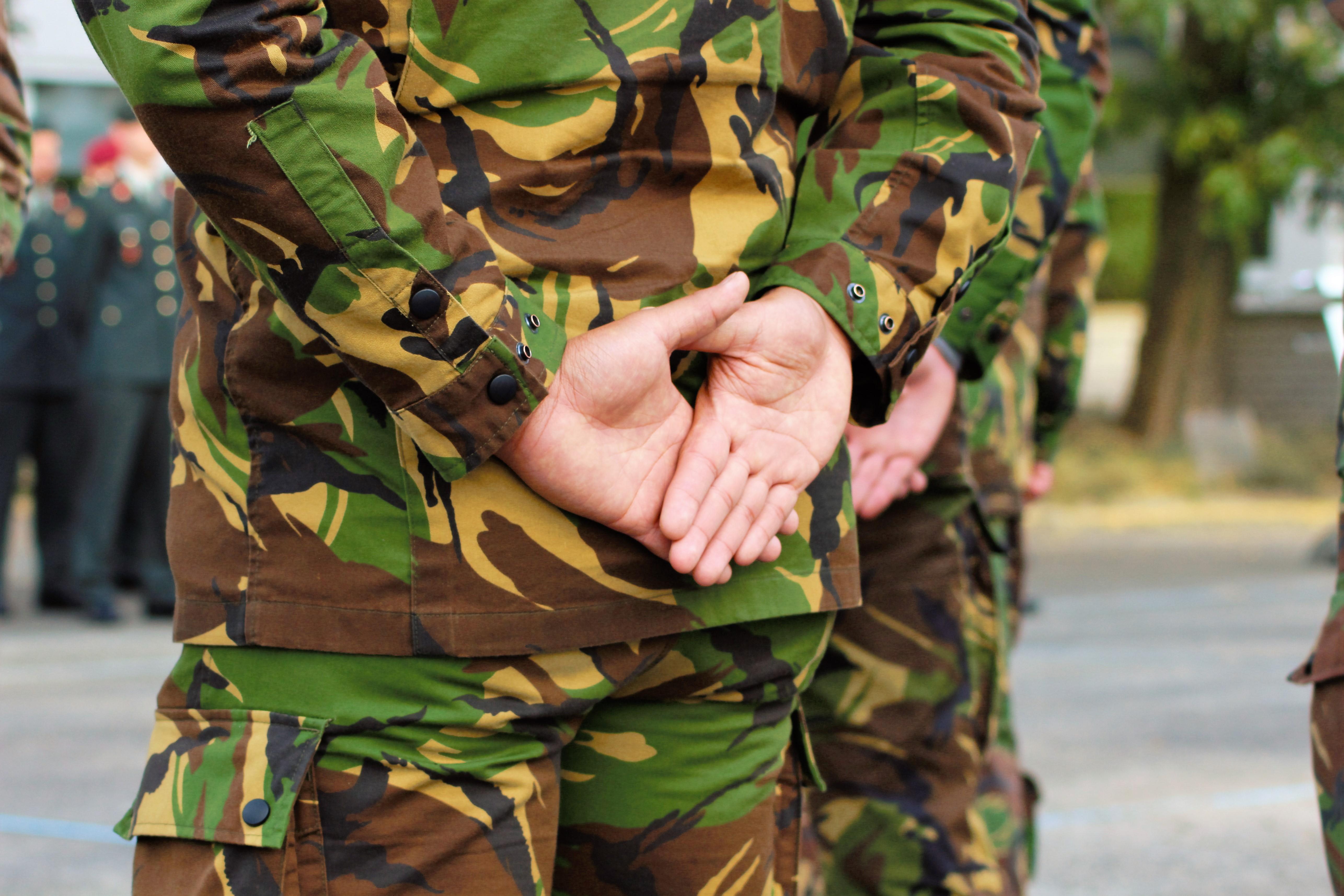 18 militairen beëdigd op Gemeentehuis